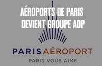 Aéroports de Paris devient GroupeADP